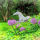The Horse in the Garden by Eileen McVey