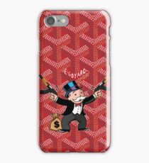 Red Monopoly iPhone Case/Skin