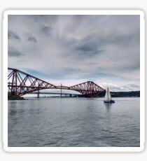 Ferry on the Forth Sticker