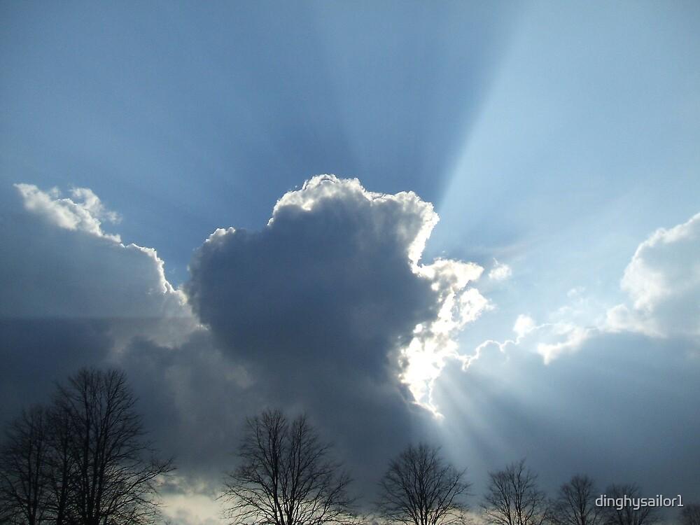 cloudburst by dinghysailor1