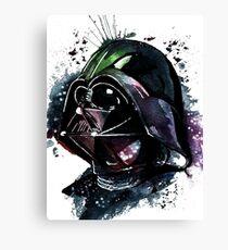 Darth Vader Colorfull Watercolor Canvas Print