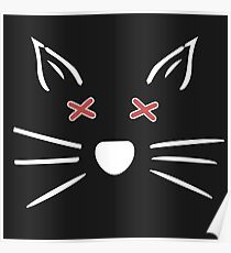 Dead Cat Whiskers Poster
