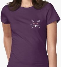 Dead Cat Whiskers Womens Fitted T-Shirt
