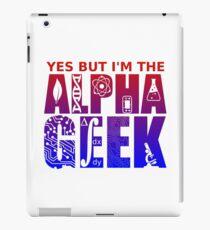 Alpha Geek iPad Case/Skin