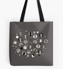 Networks Matter by Alison Atkin Tote Bag