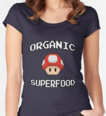 Organic Superfood Women's Fitted Scoop T-Shirt