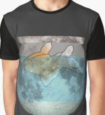 Gold on the Moon Graphic T-Shirt