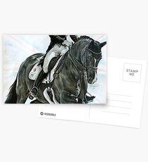 Charlotte und Valegro Postkarten