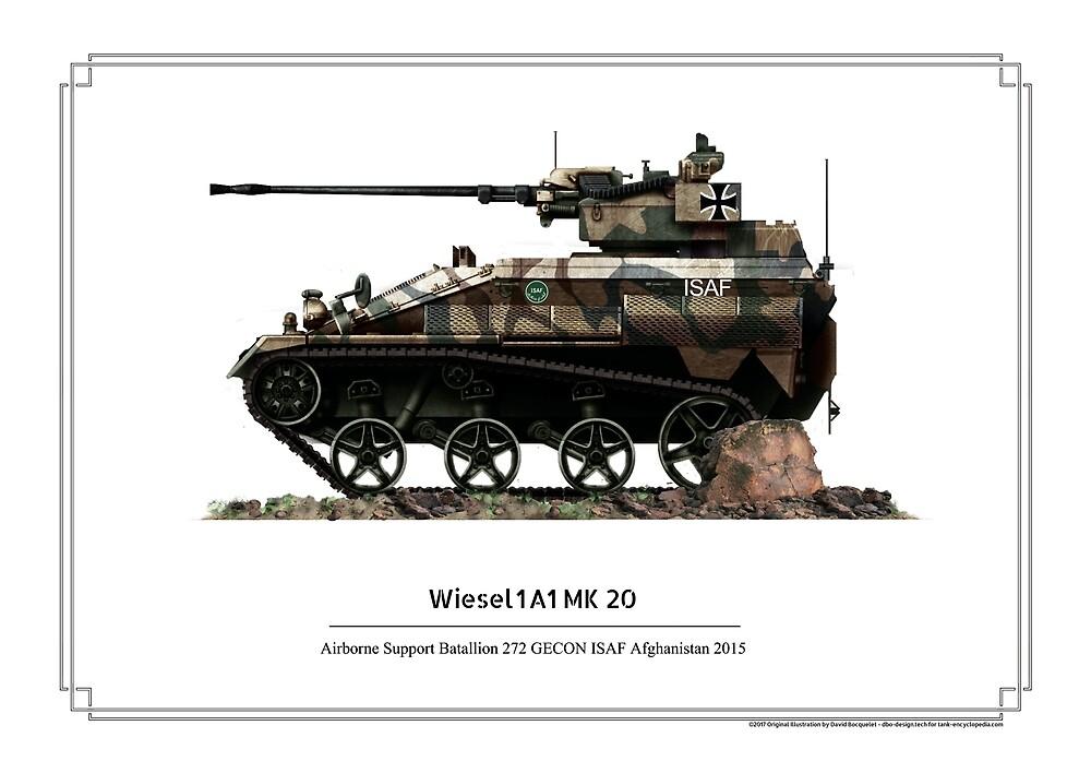 Wiesel 1A1 Mk20 ISAF