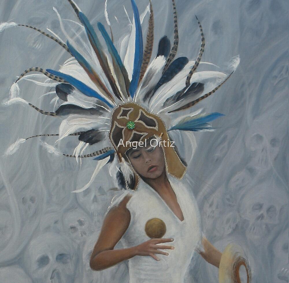 conchera en trance by Angel Ortiz