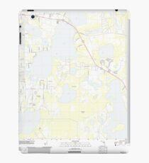USGS TOPO Map Florida FL Ashton 20120720 TM iPad Case/Skin