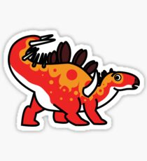 Kara the Kentrosaurus Sticker