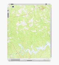 USGS TOPO Map Georgia GA Aonia 244915 1972 24000 iPad Case/Skin