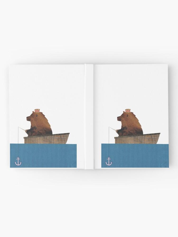 Alternative Ansicht von Cheltenham der Bär: Angelausflug Notizbuch