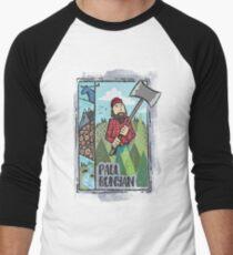 Paul Bunyan Men's Baseball ¾ T-Shirt