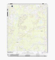 USGS TOPO Map Florida FL Ashville 20120724 TM iPad Case/Skin