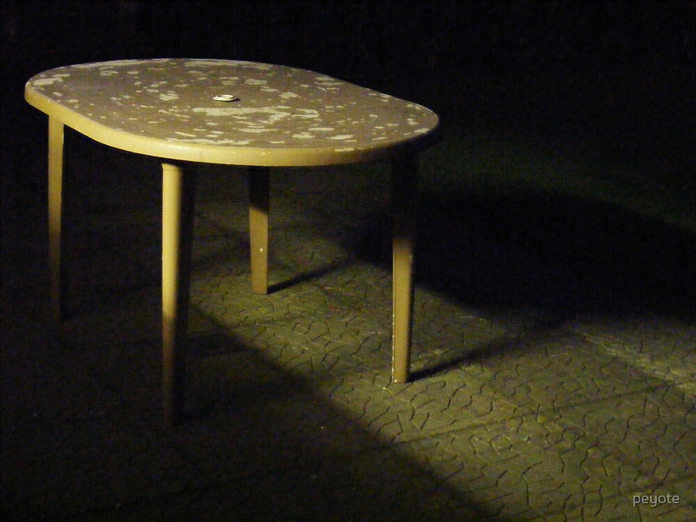 Spooky Table by peyote