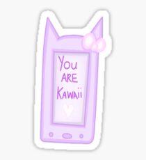 Kawaii Cell Phone Sticker