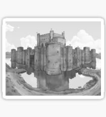 Castell Mawyr (Stone Castle) Sticker