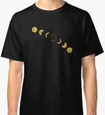 Solar Eclipse Progression Classic T-Shirt