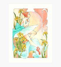 Art Nouveau Pearl Art Print