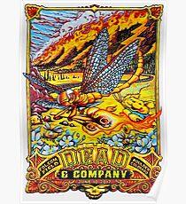 dead company June, 10th 2017, Folsom Field Boulder Colorado Poster