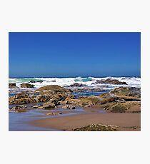Blessed to Live Here!  Oregon Coast Photographic Print