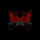 Guns and Roses RED 2 by Adam Santana