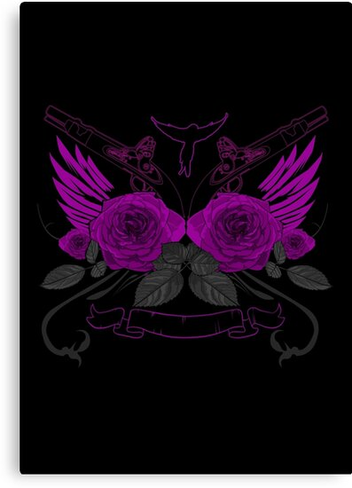 Guns and Roses 2 by Adam Santana