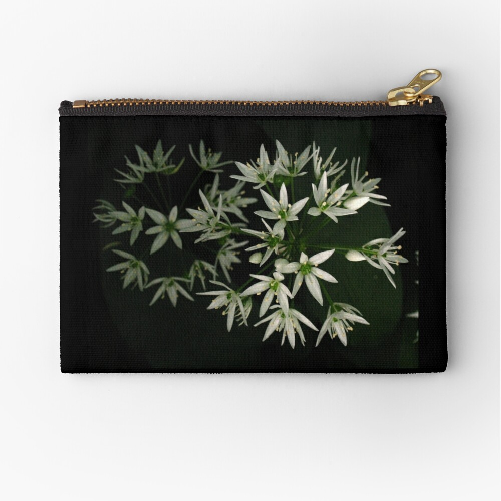 Wild Garlic Stars Zipper Pouch