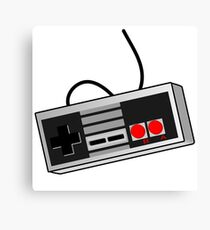 Nes controller art Canvas Print