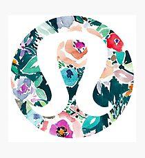 Watercolor Floral Lululemon Photographic Print