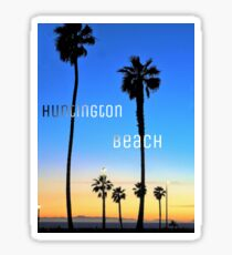 Huntington Beach Palms Sticker