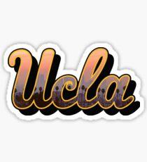 UCLA Logo Venice Sunset Sticker