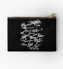 OUAT autograph (white text) Studio Pouch