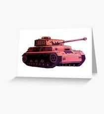 Panzer IV Tank Greeting Card