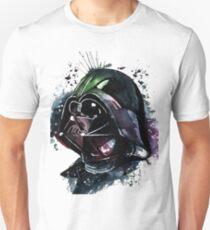 Darth Vader Colorfull Watercolor Unisex T-Shirt