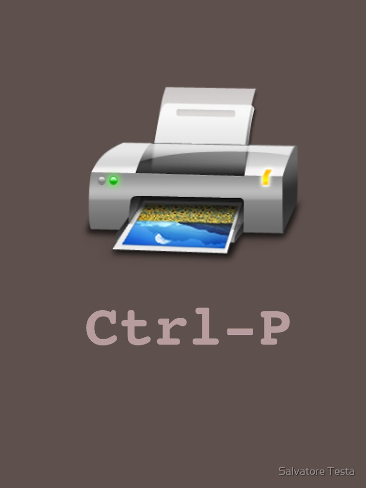 Ctrl-P by SamTesta