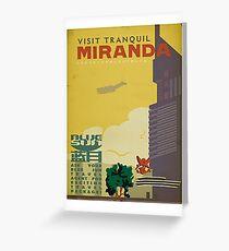 Miranda Greeting Card
