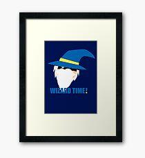 WIZARD TIME! Framed Print