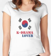 K-drama Lover 2 Women's Fitted Scoop T-Shirt