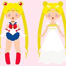 Sailor Moon Chibi by KarterRhys