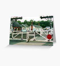 Grosmont Station Greeting Card