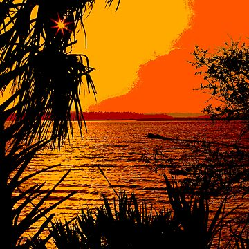 Indian River Sunset by NSightStudios