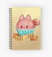 Cupcake Cat Spiral Notebook
