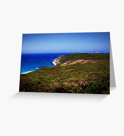 Cape Leuwin Lighthouse Greeting Card