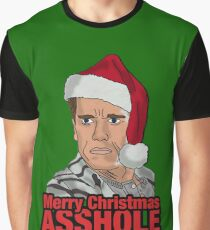 Merry Christmas, Asshole. Graphic T-Shirt