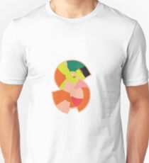 Chunky vibrant alphabet S T-Shirt