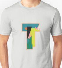 Chunky vibrant alphabet T T-Shirt