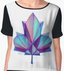 Canada 150 // Cool Chiffon Top